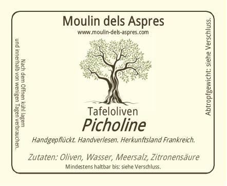 Picholine Tafeloliven
